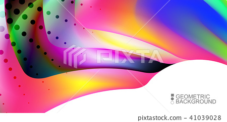 Geometric colorful abstract background 41039028