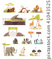 animal, icons, collection 41043525