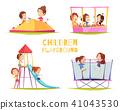 children, playground, play 41043530