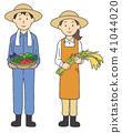 農業作物的男女 41044020