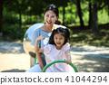 행복한 엄마와 딸 41044294