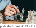 Business strategy and planning concept. 41045314