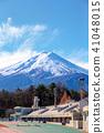 후지산 (후지 호쿠 로쿠 공원 12 월 맑음) 41048015