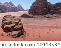 Wadi Rum desert landscape,Jordan 41048584