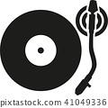 turntable, vinyl, record 41049336