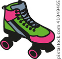 Rollerblades colored 41049465