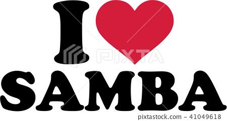 I love Samba 41049618