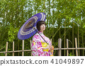 yukata bamboo thicket 41049897