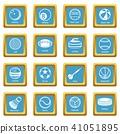 sport, balls, icon 41051895