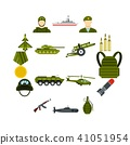 war, military, icons 41051954