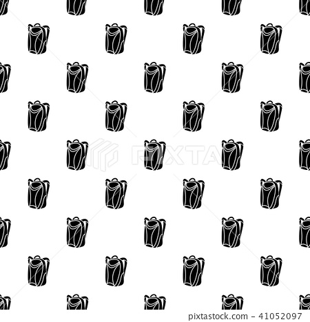 Backpack pattern vector seamless 41052097