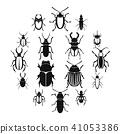 bugs icon set 41053386