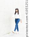 女 女性 牛仔褲 41055251
