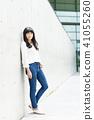 女 女性 牛仔褲 41055260