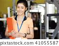 健身健身房职员女人 41055587