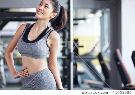 女性健身健身房 41055689