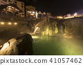 쿠사 츠 온천 / 湯畑의 야경 41057462