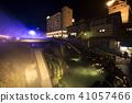 쿠사 츠 온천 / 湯畑의 야경 41057466