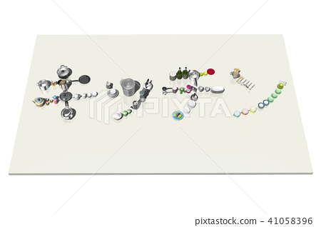 Kitchen Emoji Stock Illustration 41058396 Pixta