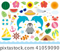 各种夏季装饰设置 41059090