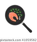 fish, salmon, cook 41059562