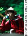 등산하는 여성 41060819