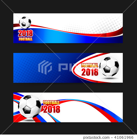Soccer Football 2018 Web banner 002 41061966