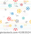 seamless soccer background 41063024