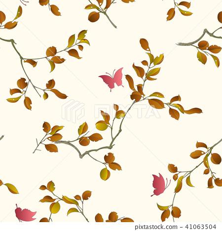 日本植物圖案, 41063504
