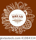 bread, bakery, vector 41064334