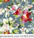 floral, flower, watercolor 41065204
