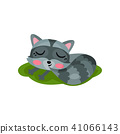 sleeping, vector, flat 41066143