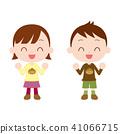 秋天的孩子穿长袖衣服 41066715