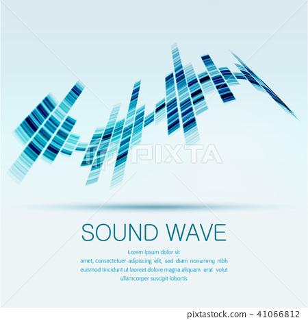sound wave 41066812