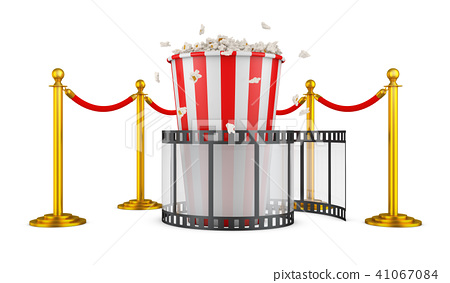 Film and popcorn 41067084
