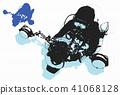 scuba driving 41068128
