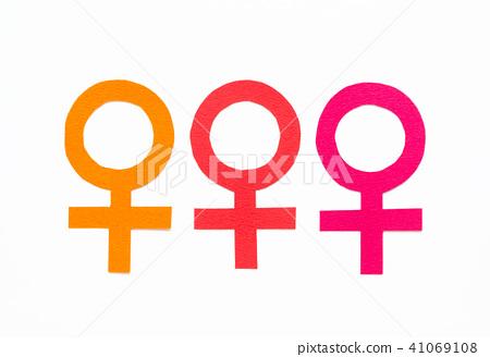 여성 마크 기호 여자 여자 ♀ 41069108