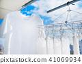 세탁, 수건, 가사, T 셔츠, 날씨 41069934