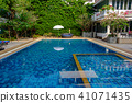 Swimming pool for children and adults. 41071435