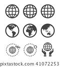 globe icon 41072253