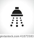 shower icon on white background 41073583