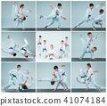 aikido, practice, throwing 41074184