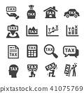 tax icon 41075769