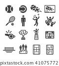 tennis icon 41075772
