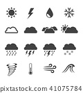weather icon 41075784