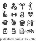 workout icon 41075787