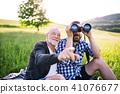 son, father, sunny 41076677