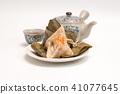 Zongzi - Traditional Dragon Boat Festival dumpling 41077645
