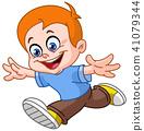 running boy 41079344
