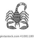 background, scorpion, style 41081180